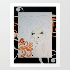Apple or Oranges? Art Print by Twisted Lil mOnsters - $33.28
