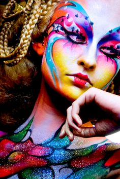 New Body Painting on Women