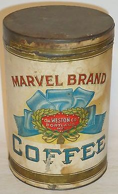 Marvel Brand Coffee