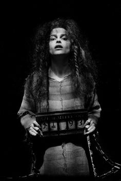 Helena Bonham Carter as Bellatrix Lestrange. ☀