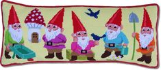 'Garden Gnomes' Tapestry Kit-pure awesomeness