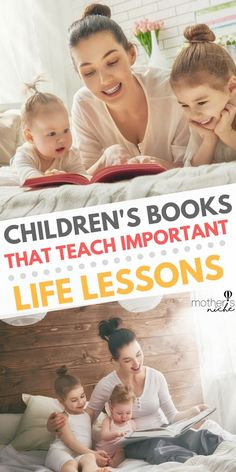 Ever end your day wondering if you taught your kids the important stuff? Make story time really count by reading your kids books that teach important life lessons Good Parenting, Parenting Hacks, Parenting Plan, Parenting Styles, Teaching Kids, Kids Learning, Teaching Manners, Early Learning, Teaching Tools