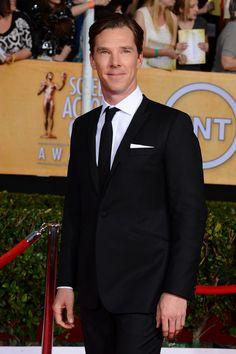 Benedict Cumberbatch Brings British Charm to the SAG Awards