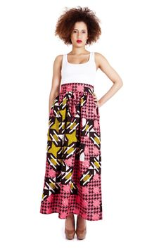 African Summer Print Fashion | Summer Prints by INYÜ, Paris | African Prints in Fashion