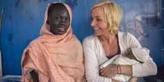 ARTISTGALLA 2013: Det brutale møtet med flyktninger i Sør-Sudan har satt dype spor hos Vår Staude. Nå forsøker hun å få sine egne barn til å forstå hva det er hun har opplevd.