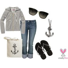 Nautical, created by pbmhuck on Polyvore