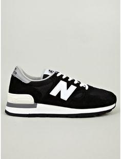 New Balance Men's Black M990BLK Made in USA Sneakers | oki-ni