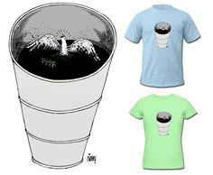 New Shirt Design, Shirt Designs, News Design, Peace, Oil, Cartoon, Mens Tops, T Shirt, Fashion