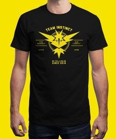 """""""Instinct"""" is today's £8/€10/$12 tee for 24 hours only on www.Qwertee.com Pin this for a chance to win a FREE TEE this weekend. Follow us on pinterest.com/qwertee for a second! Thanks:)"""