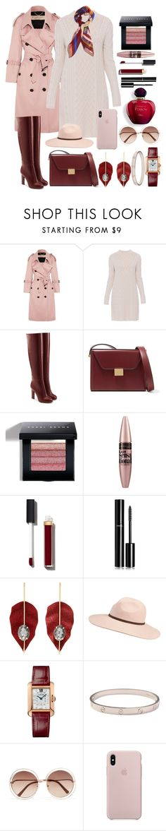 """Winter's Almost Here"" by pulseofthematter ❤ liked on Polyvore featuring Burberry, 'S MaxMara, Victoria Beckham, Bobbi Brown Cosmetics, Maybelline, Chanel, MANGO, Billabong, Cartier and Chloé"