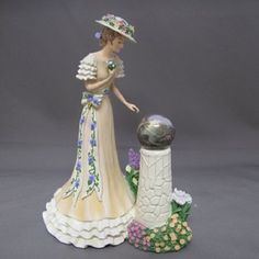 Petals of Grace Ladies of the Garden Figurine Thomas Kinkade Bradford Exchange