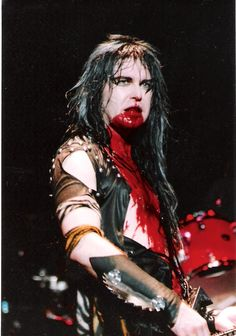 Blackie Lawless of W.A.S.P. - 80s