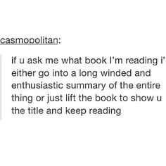 Words cannot describe how accurate this is. (Or both of the latter doesn't work. This Is A Book, I Love Books, The Book, Good Books, Books To Read, My Books, Jorge Ben, Nos4a2, Just In Case