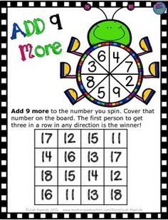 FREE Addition Game for your students. ♥Just print, laminate or use sheet protectors, and use year after year! Addition Activities, Addition Games, Math Addition, Math Activities, Spring Activities, Easter Activities, Holiday Activities, Math Stations, Math Centers