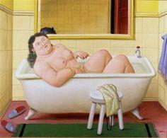 botero donna bagno - Cerca con Google