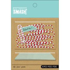 Smash Clips And Flags 20 Pcs | Hobbycraft