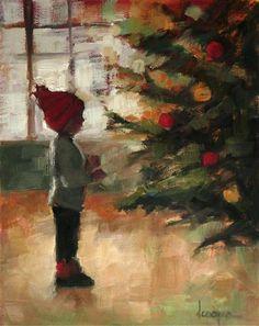 """""""Remembering When"""" - Original Fine Art for Sale - © Dana Cooper"""