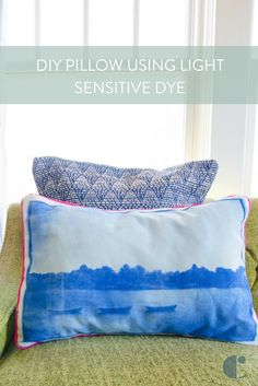Make It- DIY Pillow