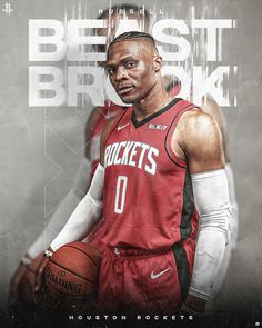 2 on Behance Basketball Videos, Sports Basketball, Basketball Players, Cards Direct, Sports Graphic Design, Nba Wallpapers, Sports Graphics, Houston Rockets, Nba Players