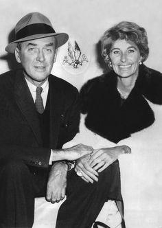 Jimmy and Gloria Stewart