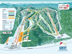 Trail Map | West Mountain | Come home to West Mountain