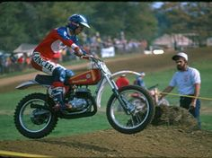 (1975) Bultaco Motocross Bike