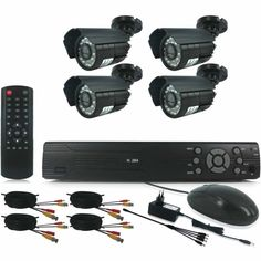 4 or 8 Channel HDMI DIY CCTV Kit With Internet & 3 G Phone Viewing From....
