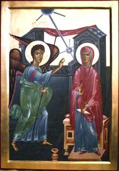 БЛАГОВЕЩЕНИЕ Грузинская икона.