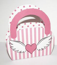 Don't Eat the Paste: Winged Heart Purse Box