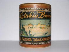Latakia Brand röktobak prod 1919 av Svenska Tobaksmonopolet
