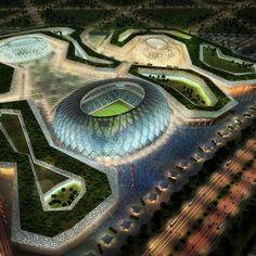 Zaha Hadid to design stadium for FIFA World Cup 2022 in Qatar