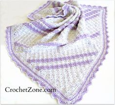 My latestcrochet pattern was inspired by need — I needed a baby gift on short notice! I've always enjoyed the look of corner to corner blankets and I know they work up quickly, so that…