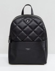 94a6a3e9cfd1 Fiorelli Trenton Quilted Backpack in Black Backpack Purse