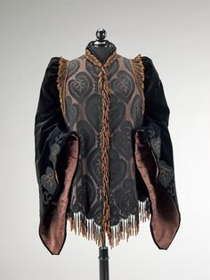b8ff5f682115 A Pingat Afternoon Jacket dating from 1885 to 1890. Pingat was a  contemporary of Worth