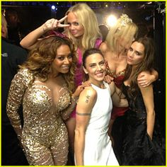 reunited 2012 spice girls at the Olympics