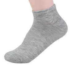 Tosangn Fashion Women Cotton Casual Short Socks Warm Winter Grey >>> To view further for this item, visit the image link.