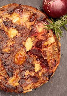 Puur vegetarische recepten: Bietenquiche met boerenbrie en rozemarijn