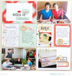 Project Life Week 43 *PL Kit Only* by debduty at @Studio_Calico #SCsugarrush