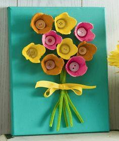 Valentine Crafts For Kids, Spring Crafts For Kids, Easter Crafts, Diy For Kids, Diy And Crafts, Arts And Crafts, Alphabet Crafts, Diy Ostern, Paper Plate Crafts