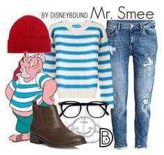Mr. Smee by leslieakay on Polyvore featuring polyvore M.i.h Jeans H&M Dorothy Perkins La Preciosa Barbour fashion style clothing disney disneybound disneycharacter