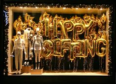 Happy Gifting | J Crew 2013 Christmas Windows | London