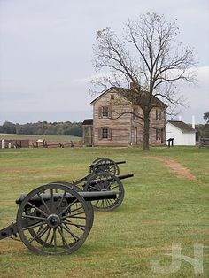 The Henry House - Manassas Battlefield, Virginia ~ destroyed during first Battle of Bull Run, but later rebuilt