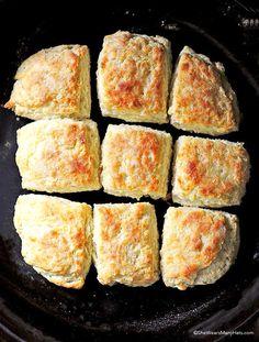 Fluffy Buttermilk Biscuits Recipe | http://shewearsmanyhats.com/fluffy-buttermilk-biscuits-recipe/