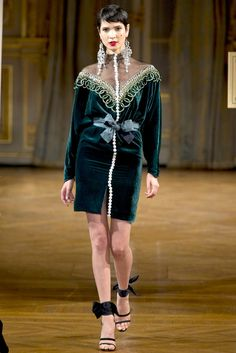 Alexis Mabille Fall 2012 Couture Fashion Show - Hanaa Ben Abdesslem