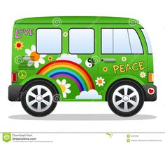 Magic Bus Clip Art Royalty Free No Credit Required like vw