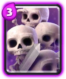 Exército de Esqueletos - Informações, Dano, Custo e atualizações