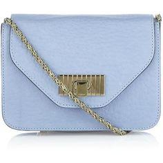 Chloé Mini Sally Shoulder Bag ($995) ❤ liked on Polyvore