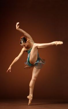 Yet another reminder why ballerinas are cooler than normal people....