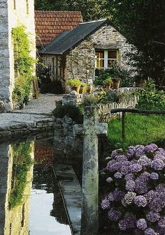 Watermill house, Brittany