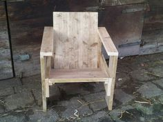 steigerhout stoel vanaf €85,00